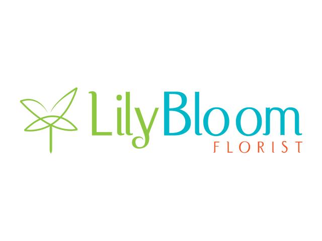 lily bloom florist logo design