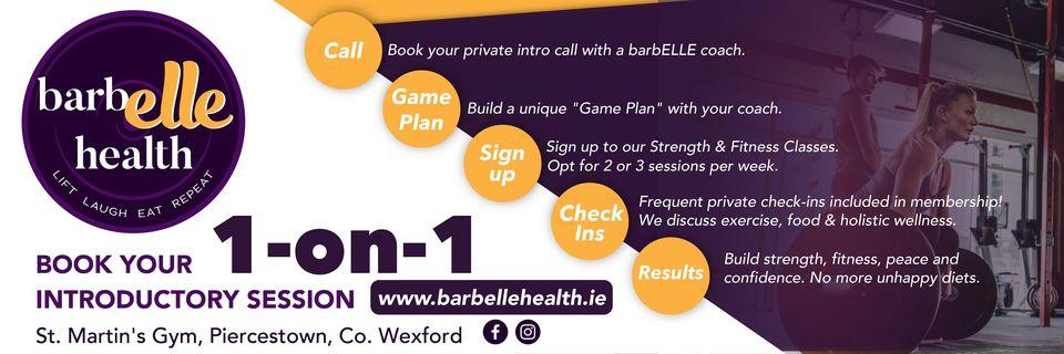 Barbelle header